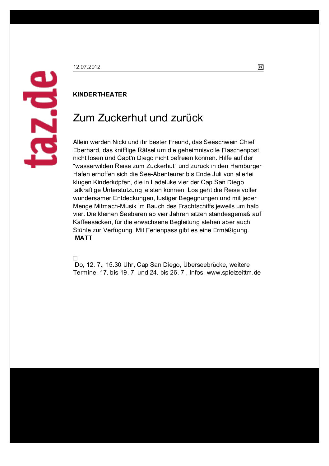 12.07.2012- taz.de